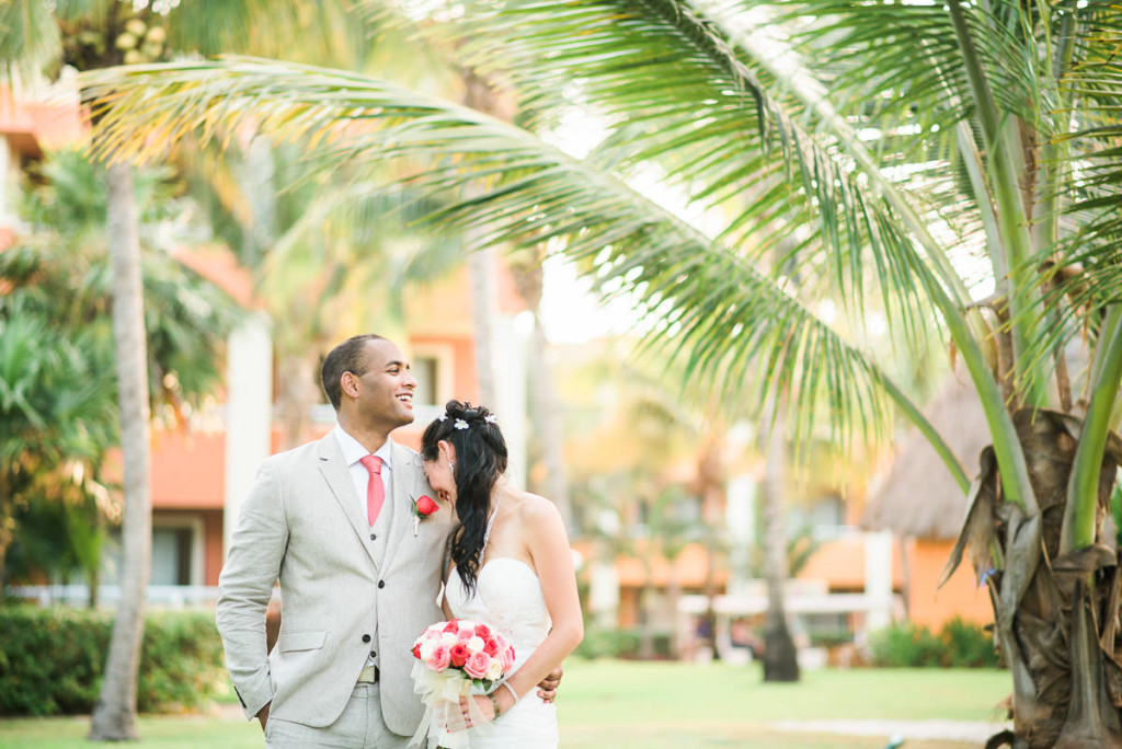 Destination Wedding in Tulum Mexico at the Grand Bahia Principe Resort