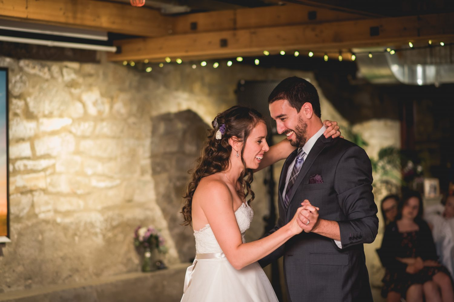 First dance held at Alton Mill wedding