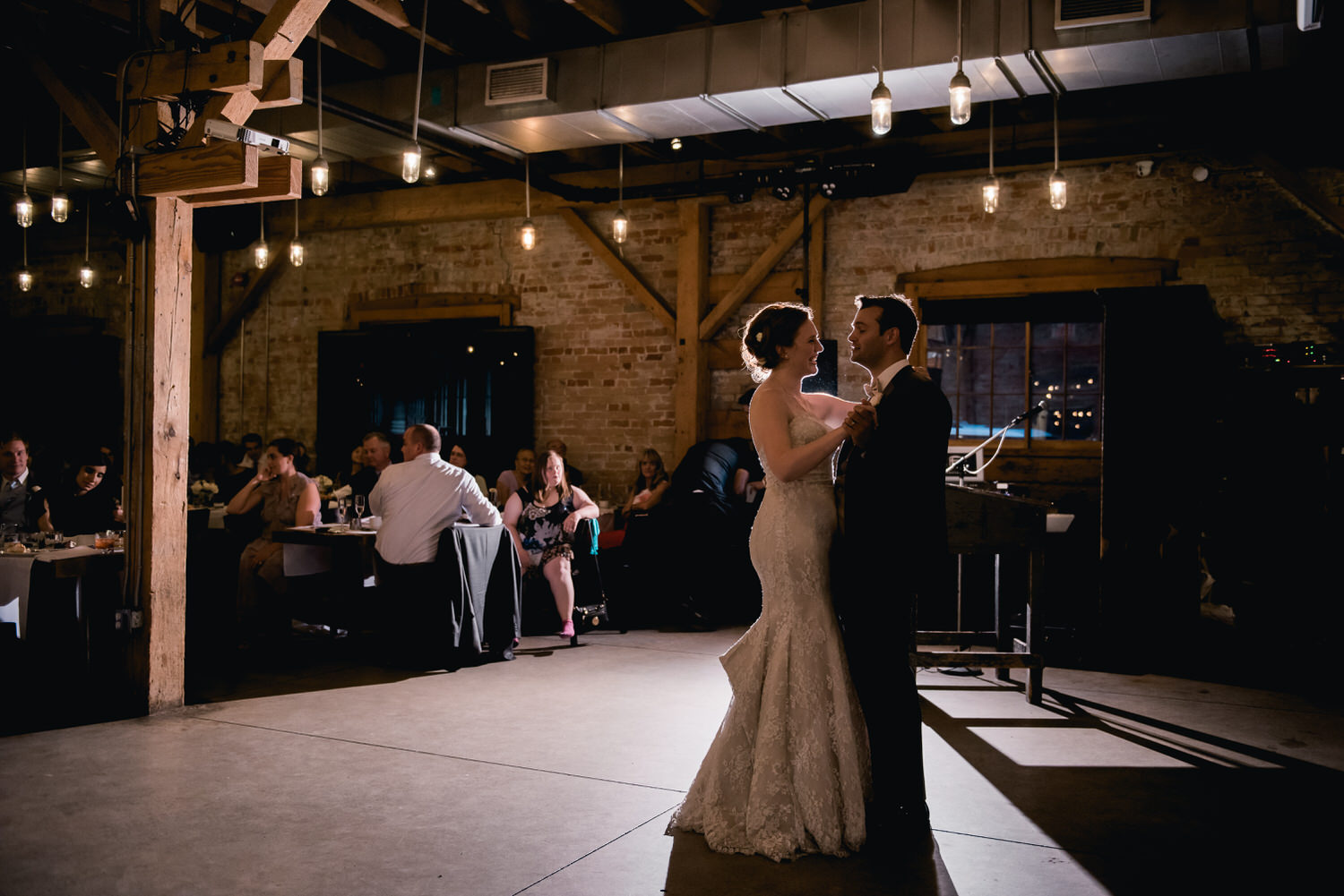 First dance at Archeo in Toronto