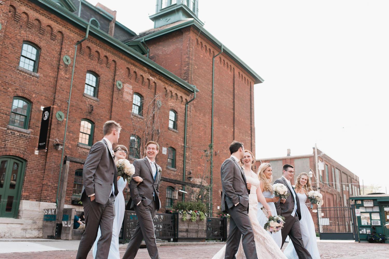 Archeo Distillery District Wedding