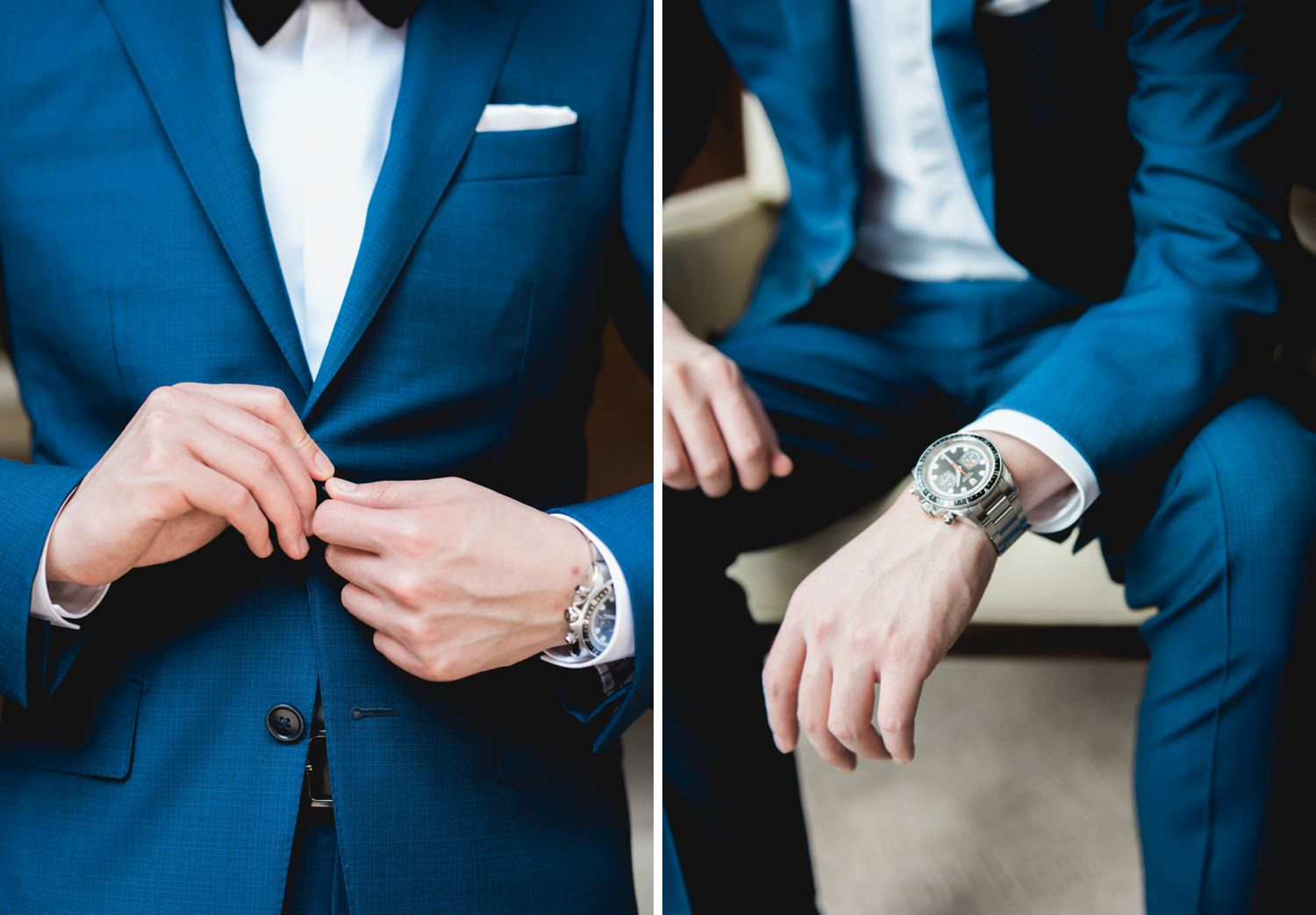 Groom details at the Shangri-La Holte in Toronto Wedding