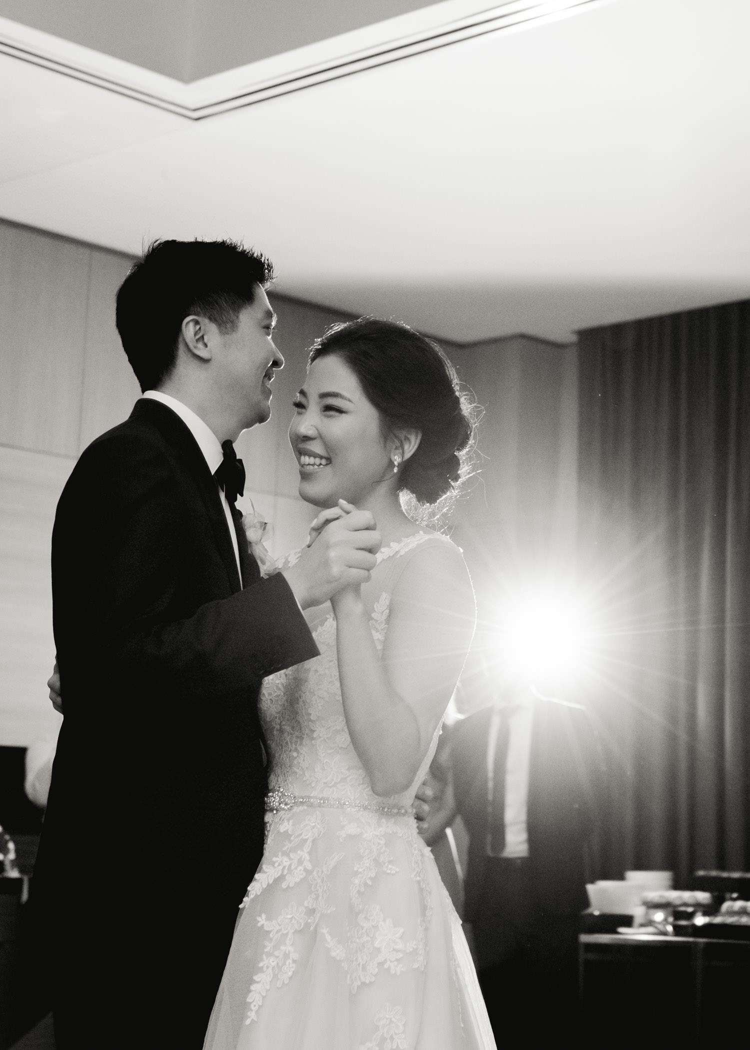 First dance at wedding in Shangri-La in Toronto
