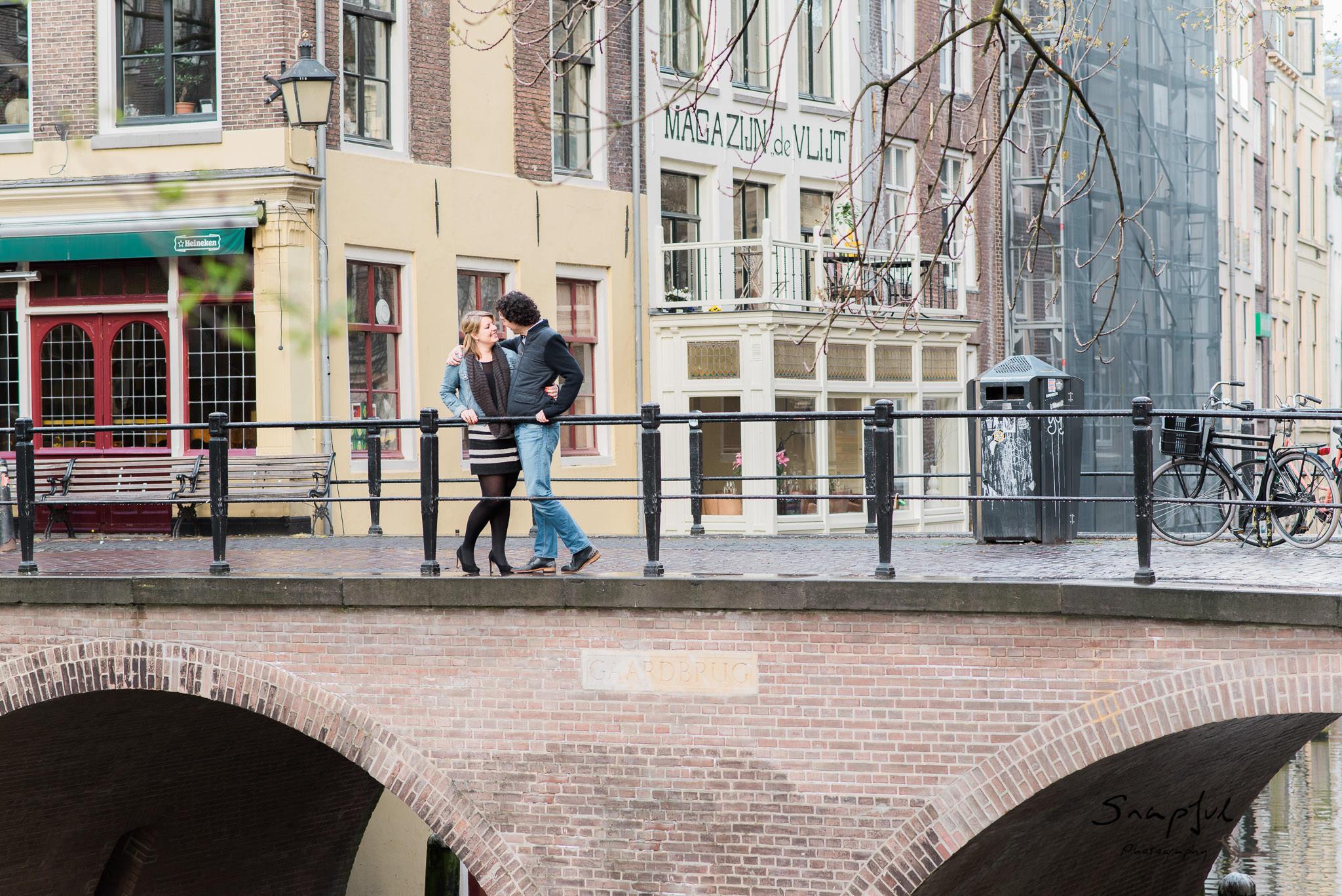 Bridge Canals Utrecht