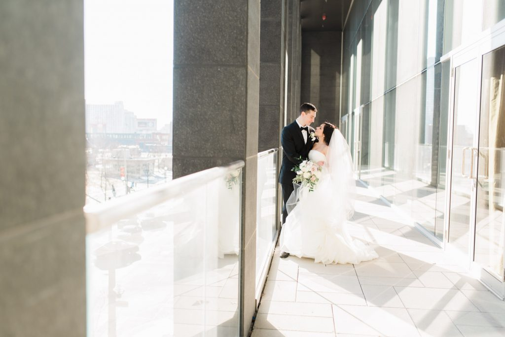 Bride and groom elope at Toronto Delta Holte
