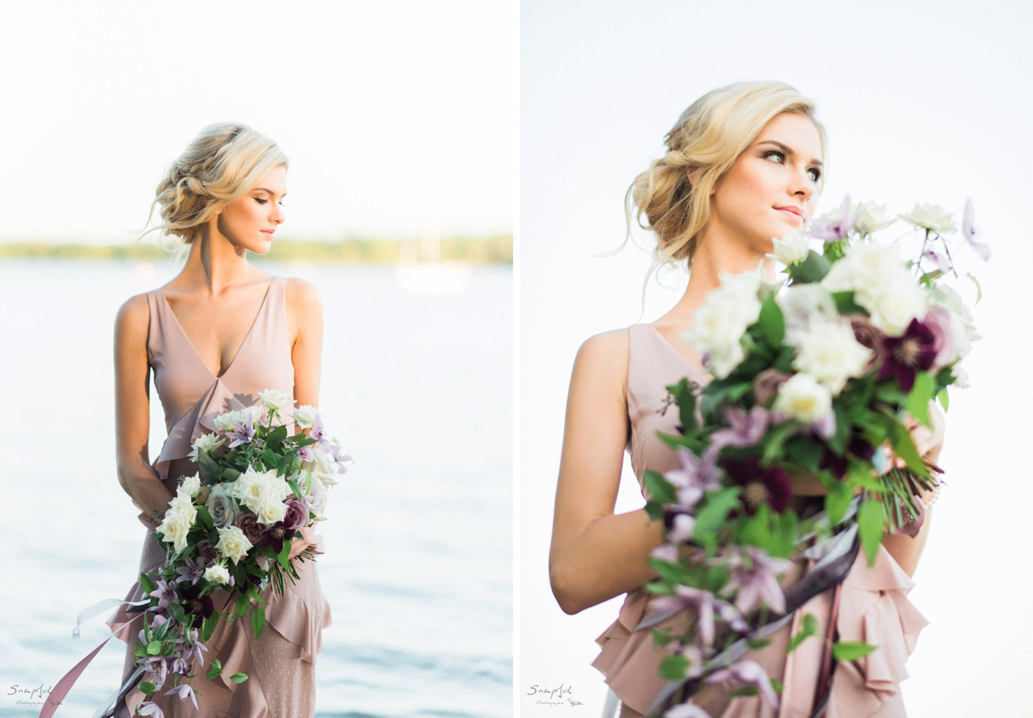 Bridal session at Cherry Beach in Toronto