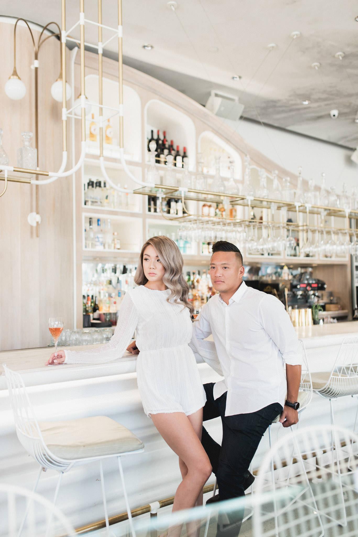 Engagement shoot at Figo's