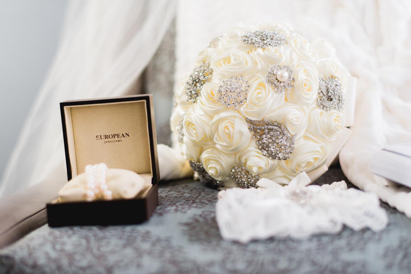 The Bride's wedding details