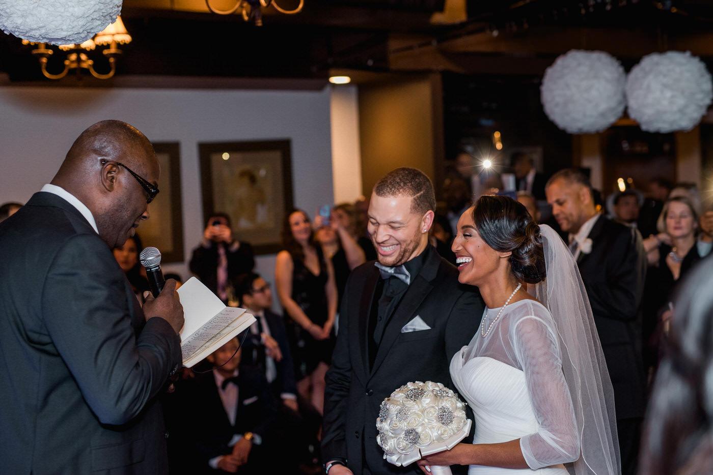 New Year's Eve wedding in Toronto