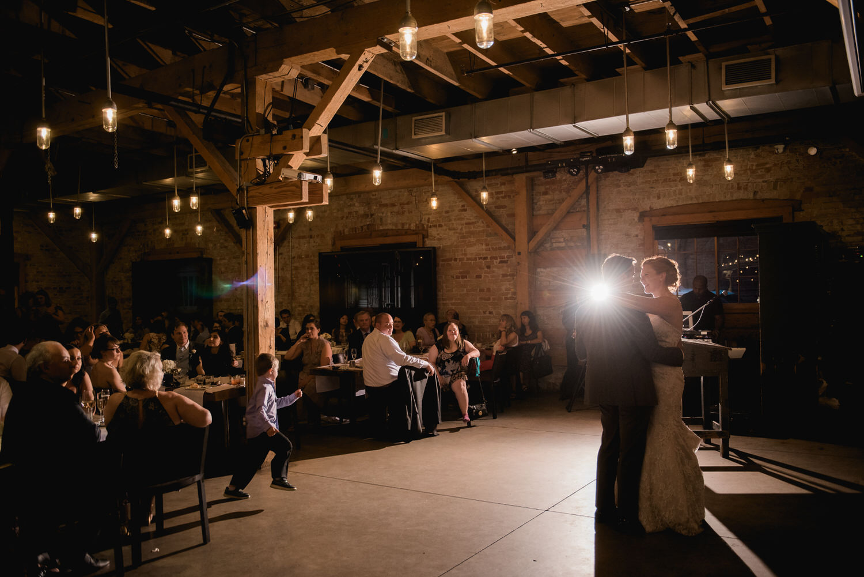 First dance at Archeo wedding Toronto