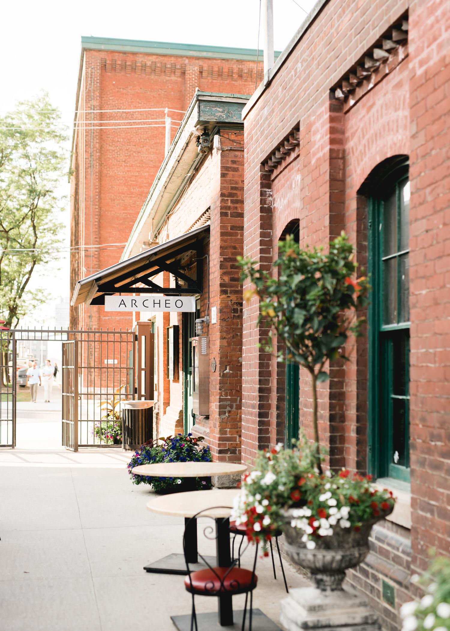 Archeo Wedding Distillery District in Toronto