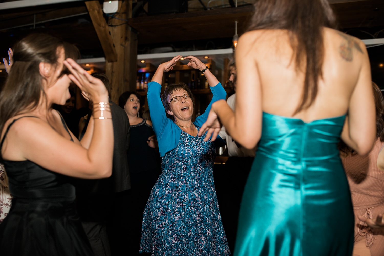 Dancing at Archeo wedding Toronto