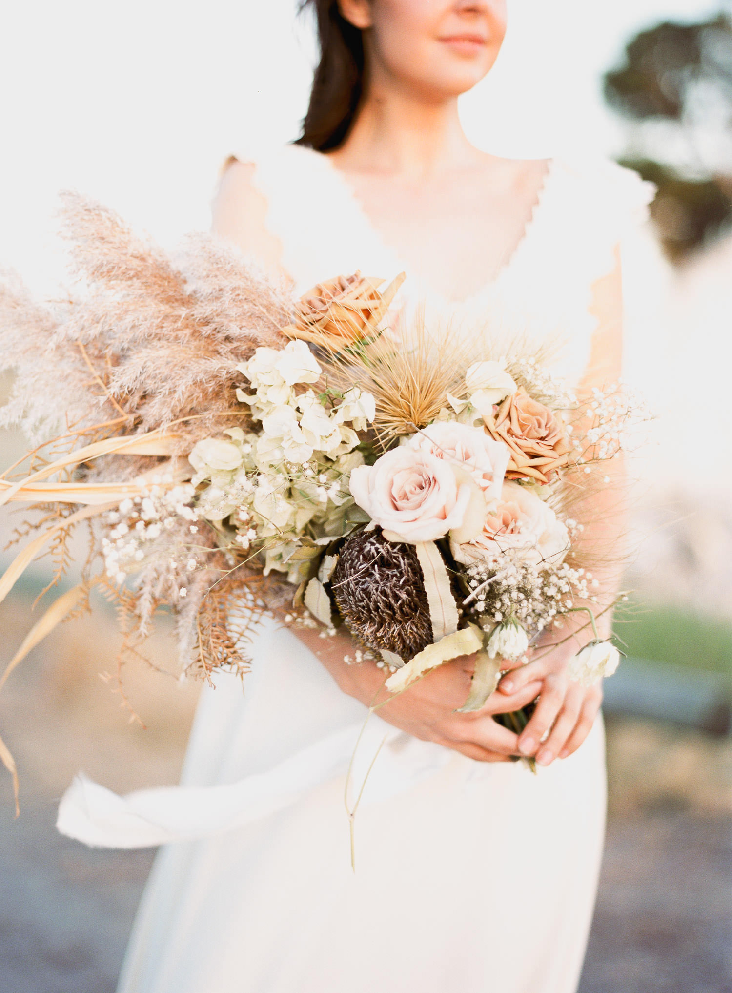 Beautiful bouquet by Rose and Bud for elopement in Perth
