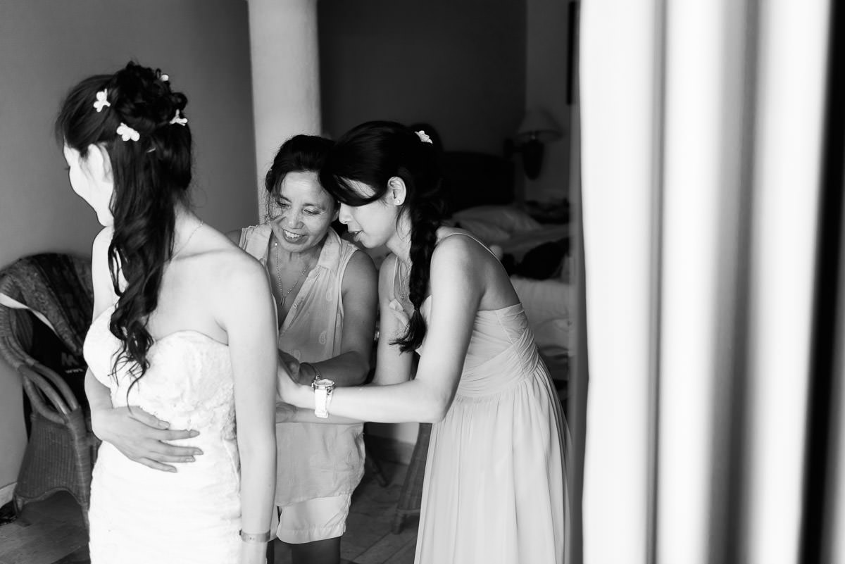 Bonica Cyril Destination Wedding Tulum Mexico Gran Bahia Principe