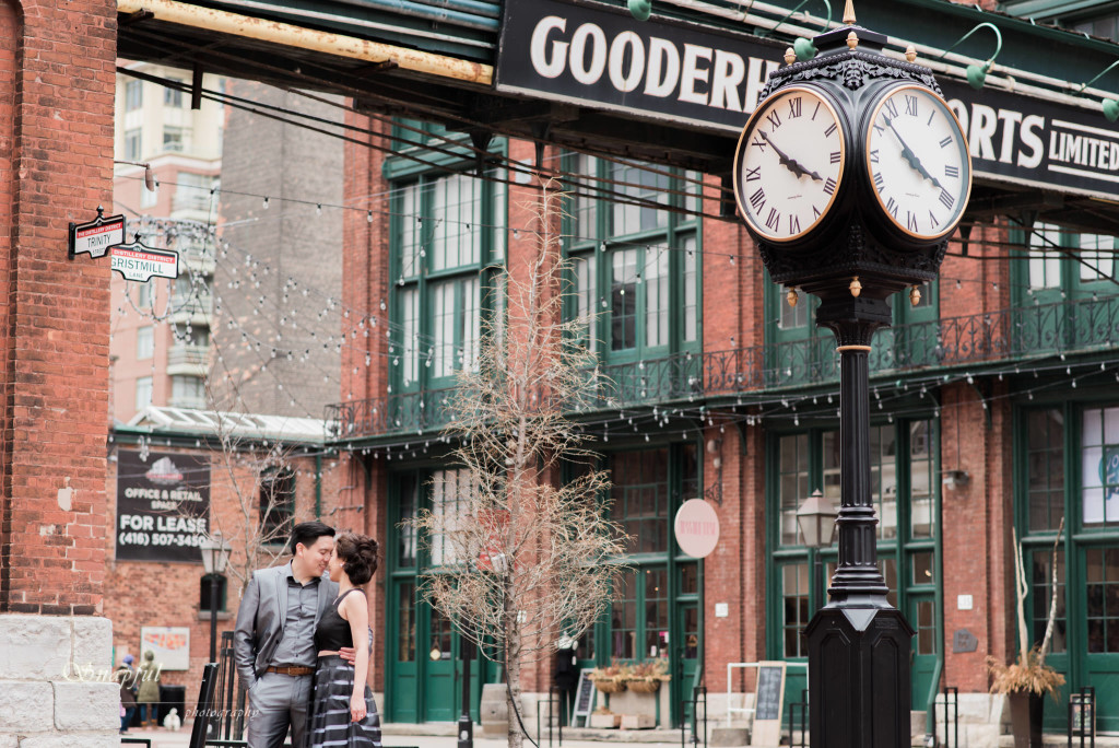 Distillery District Engagement session