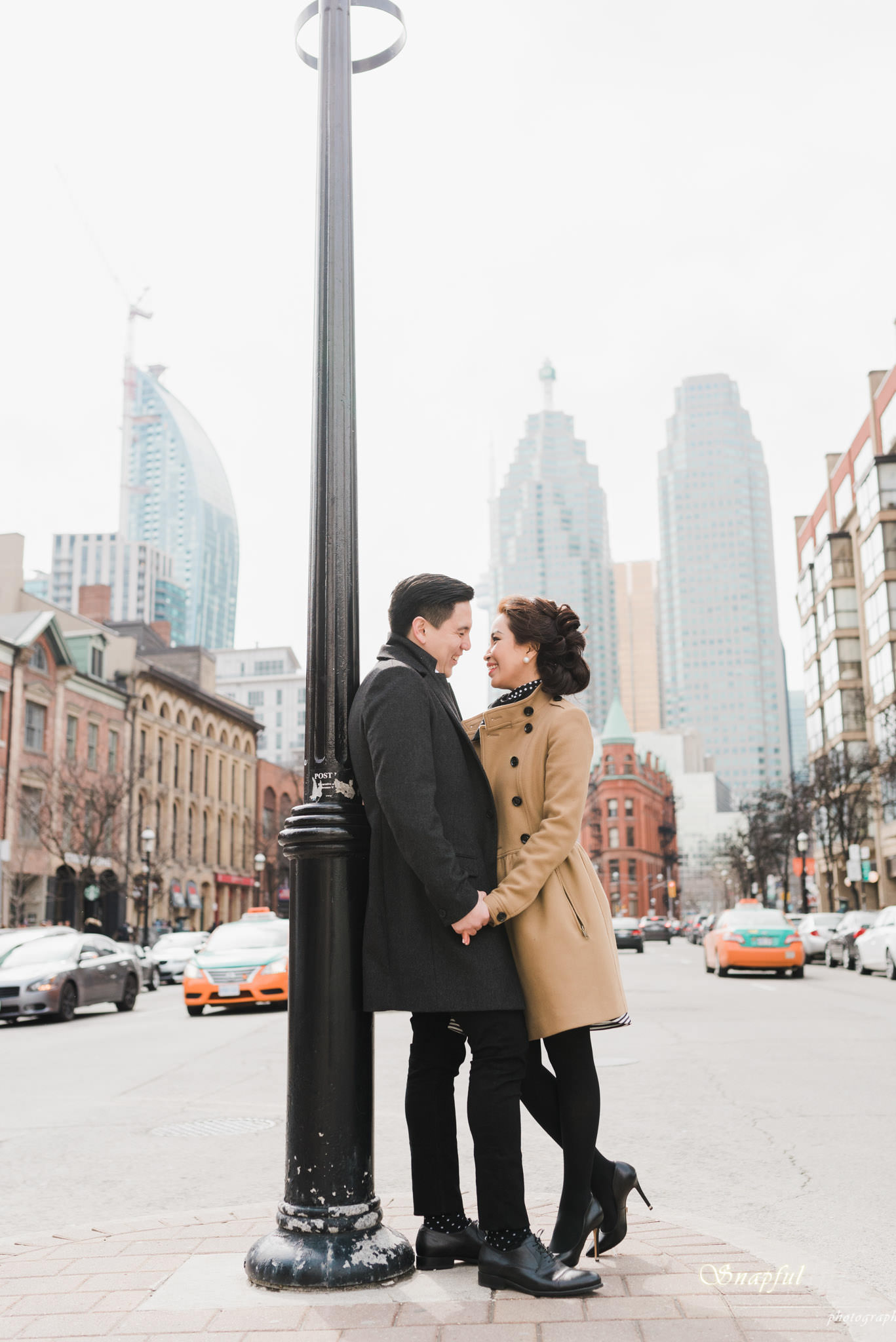 St-Lawrence Market Toronto Engagement session