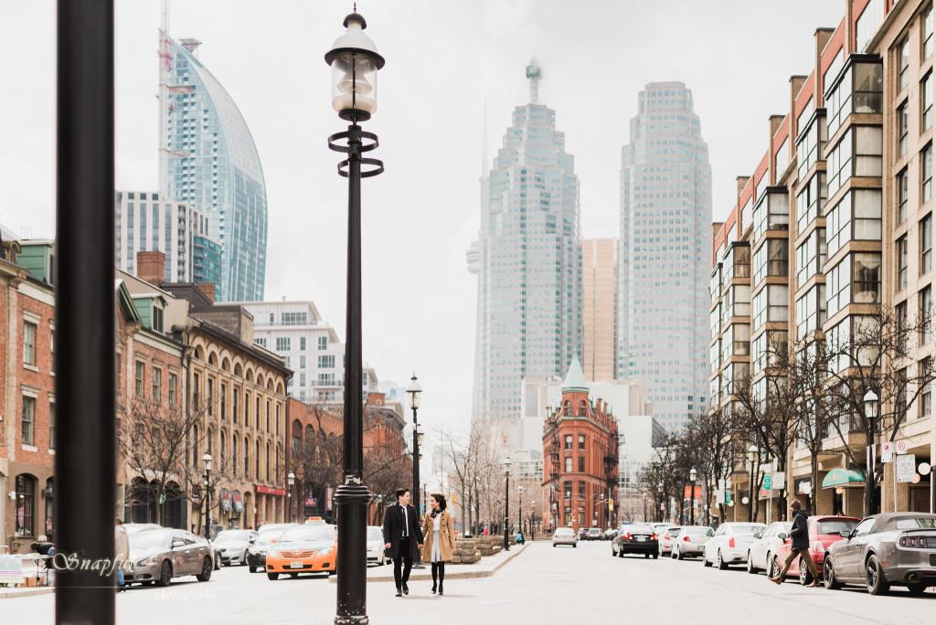 St-Lawrence Market Toronto Engagement